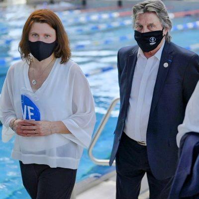 Roxana Maracineanu - Ministre des Sports - Visite Agglo de Brive
